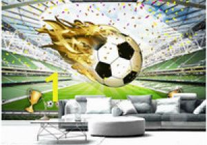 Football Wall Mural Wallpaper Wdbh 3d Wallpaper Custom Photo Hd Huge Football Field Background Home Decor Living Room 3d Wall Murals Wallpaper for Walls 3 D Living Room