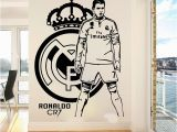 Football Wall Murals for Kids Cristiano Ronaldo Football Players Wall Sticker Kids Room Bedroom