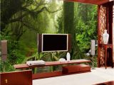 Forest Scene Wall Mural Ì¿Ì¿Ì¿ •Ìª Custom Mural Photo 3d Room Wallpaper Tropical Rain