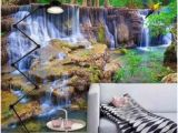 Forest Stream Wall Mural 243 Best 3d Wallpaper Images