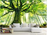 Forest Wall Decal Mural Select Size Wallpaper Wall Mural for Home Office