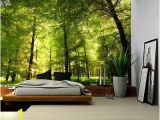 Forest Wall Mural Decal Crowded forest Mural Wall Mural Removable Sticker