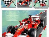 Formula One Wall Murals Race Car Set 3 Canvas Nursery Art Race Car Wall by