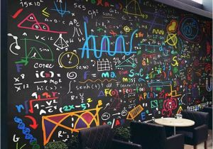 Formula One Wall Murals Us $8 84 Off Color Chalk Math formula Blackboard Background Wall Professional Making Mural Custom Photo Wallpaper In Fabric & Textile
