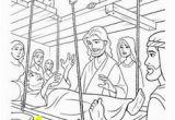 Four Friends Help A Paralyzed Man Coloring Pages 13 Best Jesus Heals Paralyzed Man Images