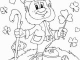 Four Leaf Clover Color Page Shamrock Coloring Page Instant Download Coloring Page Four Leaf