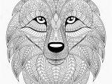Fox Mandala Coloring Pages Awesome Fox Mandala Coloring Pages Pics