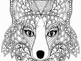 Fox Mandala Coloring Pages Coloring Page Beutiful Fox Head Free to Print