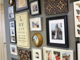 Frame Mural On Wall Great Photo Collage Gray Wall Color Belle Maison Personal