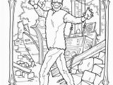 Frankenstein Head Coloring Pages Frankenstein Coloring Page
