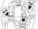 Freddy Fazbear Coloring Page Fnaf toy Golden Freddy Coloring Page