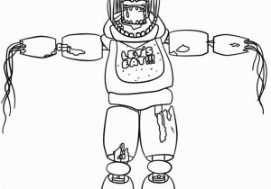 Freddy Fazbear Coloring Page Nightmare Foxy Coloring Pages Free Coloring Library