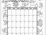 Free 2019 Coloring Pages January 2019 Coloring Page Printable Calendar
