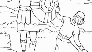Free Bible Coloring Pages David and Goliath David and Goliath Coloring Pages