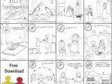 Free Bible Coloring Pages Ten Commandments 10 Mandments Coloring Book [free Printable Pdf] Pages