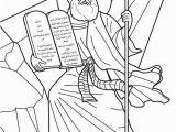 Free Bible Coloring Pages Ten Commandments Moses Receives the Ten Mandments Bible Coloring Page