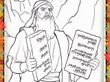 Free Bible Coloring Pages Ten Commandments Printable Coloring Page for Kids and Adults Bible