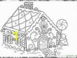 """Free Christmas Coloring Pages Gingerbread House 72 Best Icolor """"gingerbread Houses"""" Images"""