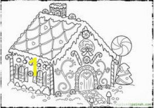"Free Christmas Coloring Pages Gingerbread House 72 Best Icolor ""gingerbread Houses"" Images"