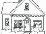 Free Christmas Coloring Pages Gingerbread House Gingerbread House Coloring Page Best Graphy Free Adult