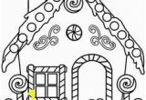 Free Christmas Coloring Pages Gingerbread House Printable Gingerbread House Coloring Pages for Kids
