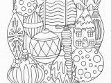 Free Christmas ornament Coloring Pages Lovely Christmas ornament Coloring Pages