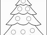 Free Christmas Tree ornament Coloring Pages Christmas Tree Colouring Page Free 53 Christmas Coloring Activity