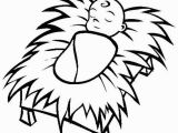 Free Coloring Pages Baby Jesus In A Manger Baby Jesus In A Manger Cliparts