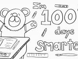 Free Coloring Pages for 100th Day Of School 100th Day School Coloring Pages Free Coloring Home
