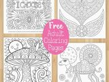 Free Coloring Pages for Adults Printable Hard to Color Free Coloring Pages — Thaneeya