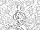 Free Coloring Pages for Adults with Dementia Zentangel Pfau Mit ornament Super Coloring Bordados