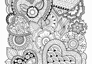 Free Coloring Pages for Adults Zentangle Hearts Coloring Page • Free Printable Ebook