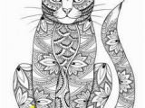 Free Coloring Pages for Kids Cats Animaux Coloring Books