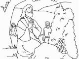Free Coloring Pages for Zacchaeus Free Printable Jesus Coloring Pages Freecoloring