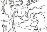 Free Coloring Pages for Zacchaeus Zacchaeus Coloring Page