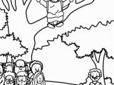 Free Coloring Pages for Zacchaeus Zacchaeus E Down Coloring Page Crafting the Word