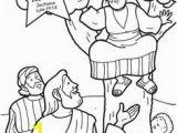 Free Coloring Pages for Zacchaeus Zachäus