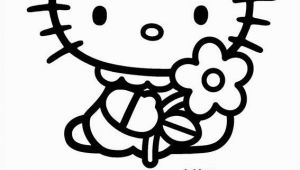 Free Coloring Pages Hello Kitty Hello Kitty