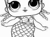 Free Coloring Pages Lol Dolls Merbaby Surprise Doll Coloring Sheet