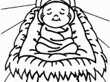 Free Coloring Pages Of Baby Jesus In A Manger Free Printable Jesus Coloring Pages for Kids