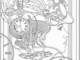 Free Coloring Pages Of Clocks Steampunk Livro Para Colorir Google Search