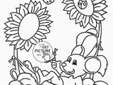 Free Coloring Pages Of Hawaiian Flowers Simple Flower Coloring Page