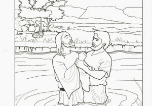 Free Coloring Pages Of Jesus Being Baptized Coloring Coloring Page Jesus Baptism for Kids Pages Lds
