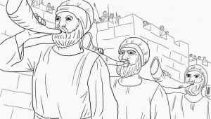 Free Coloring Pages Of Joshua and the Battle Of Jericho Coloring Pages Battle Jericho Coloring Home