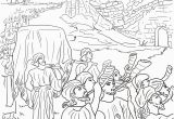 Free Coloring Pages Of Joshua and the Battle Of Jericho Joshua and the Fall Of Jericho Bible Coloring Pages