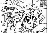 Free Coloring Pages Of Joshua and the Battle Of Jericho Joshua and the Wall Jericho Coloring Pages Coloring Home