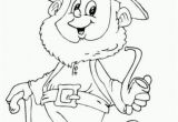 Free Coloring Pages Of Leprechauns Saint Patricks Day Leprechaun Holding Pipe Coloring Page for