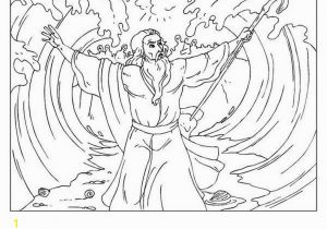 Free Coloring Pages Of Moses and the Red Sea Moses and the Red Sea Coloring Page at Getcolorings