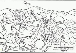 Free Coloring Pages Of Moses and the Red Sea Moses and the Red Sea Coloring Page Bible Moses Red Sea