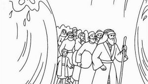Free Coloring Pages Of Moses and the Red Sea Moses Parting the Red Sea Coloring Page Coloring Home